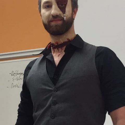 Halloween Notfalldarstellung