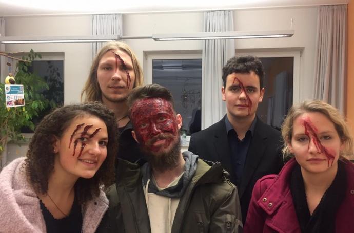 Halloween Notfalldarstellung 2